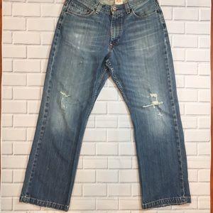 X2 Distressed Bootcut Jean